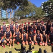 Tri Nation triathlon training at Redcliffe