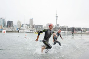 Auckland 70.3 swim